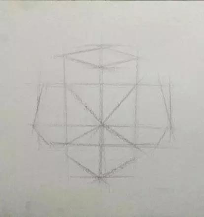 广州画室培训班素描石膏几何体像画法教程