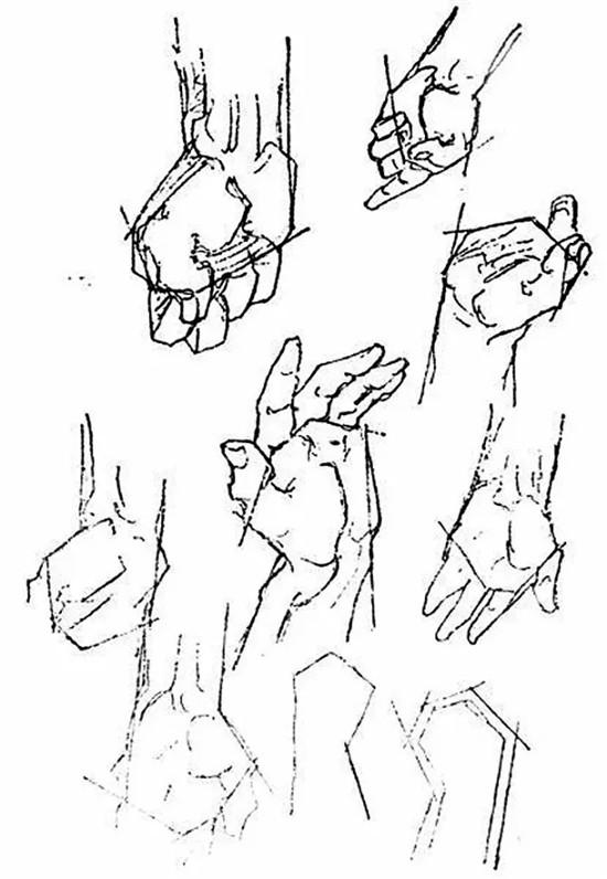 素描四边体步骤图