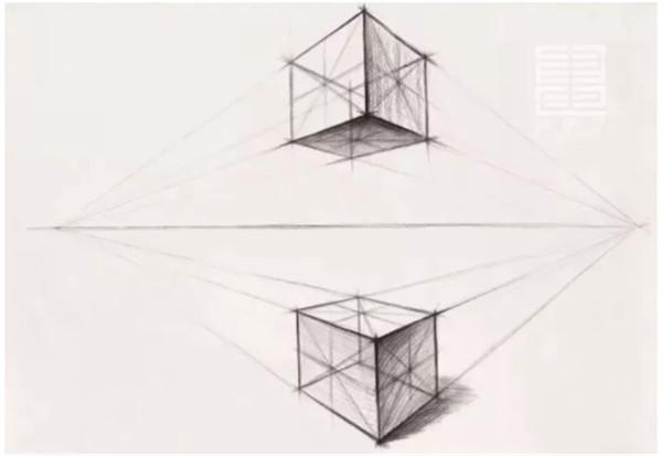 """寒阳动态 美术技巧 本页  总结:平行透视下的构图虽然""""稳"""",但视觉上"""